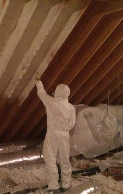Precision Applications Spray Foam Insulation Services